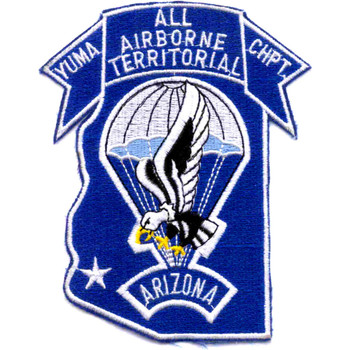 Airborne Yuma Territorial Chapter Patch