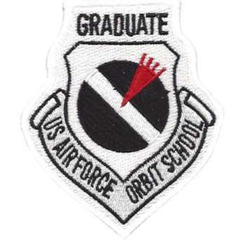Airborne Warning And Control System | AWACS Orbit School Patch Graduate