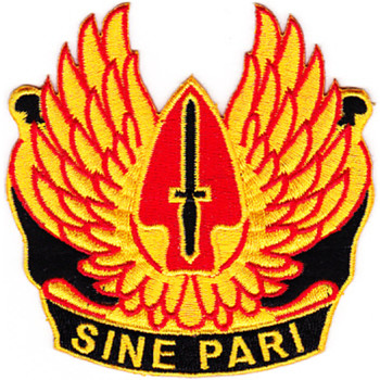 Airborne SOC Fort Bragg Theater Of Operation Patch