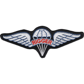 Airborne Pararigger Patch Red