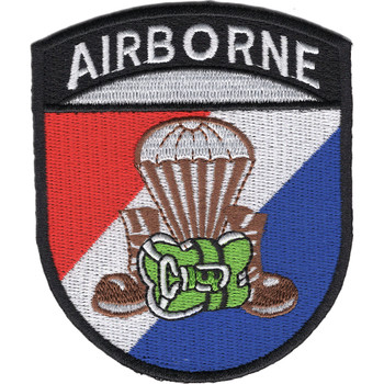 Airborne Parachute Boots & Pack Patch