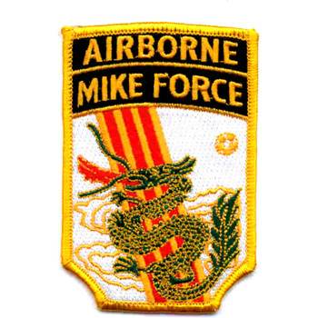 Airborne Mike Force Patch Vietnam