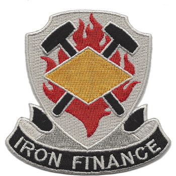 8th Finance Battalion Patch