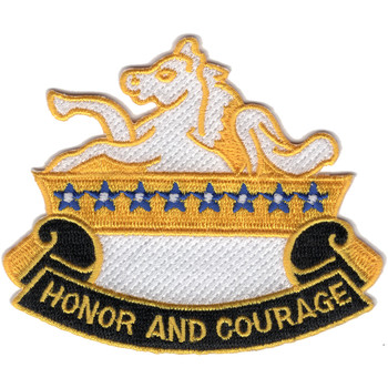 8th Cavalry Regiment Patch