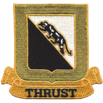 89th Army Tank Battalion Patch