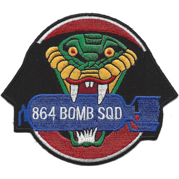 864th Bomb Sqaudron Patch