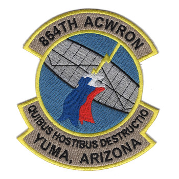 864th Aircraft Control and Warning Squadron Patch