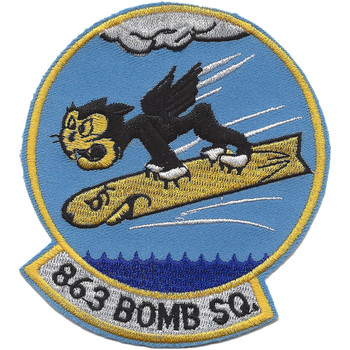 863rd Bomb Squadron Patch