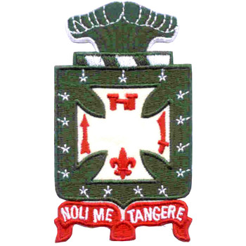 4th Infantry Regiment Patch Nol Me Tangere