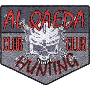 Al Qaeda Hunting Club Patch