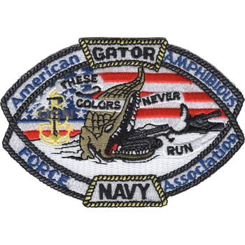 American Amphibious Force Association Gator Cargo Patch