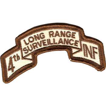 4th Infantry Division Long Range Desert Patch