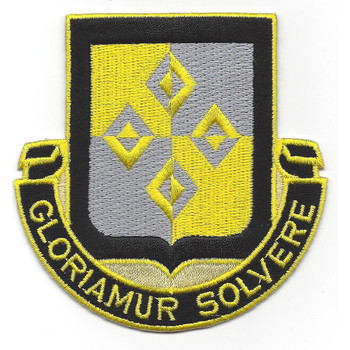 4th Finance Battalion Patch