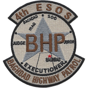 4th ESOS BHP OIF Desert Patch