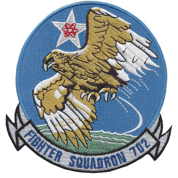 VF-702 Fighter Squadron Patch