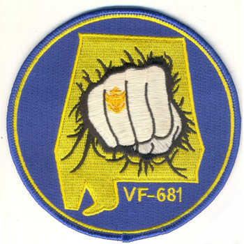 VF-681 Fighter Alabama Reserve Squadron Patch
