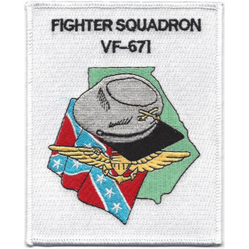 VF-671 Figher Reserve Squadron Six Seven One Patch