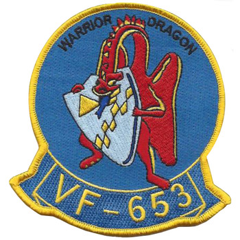 VF-653 Warrior Dragon Patch