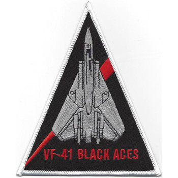 VF-41 F-14 Triangle Patch Black Aces