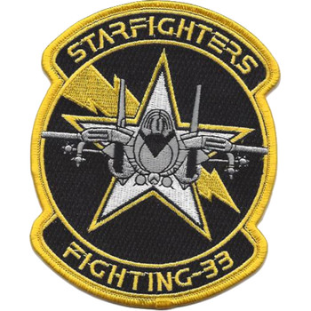 VF-33 Fighter Squadron Starfighters Patch