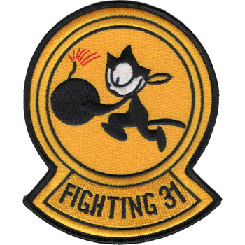 VF-31 VFA-31 Fighter Squadron Tomcatters Patch