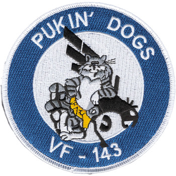 VF-143 Fighter Squadron Patch Hook And Loop