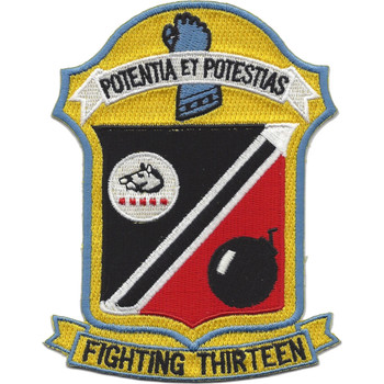 VF-13 Aviation Fighter Squadron Patch