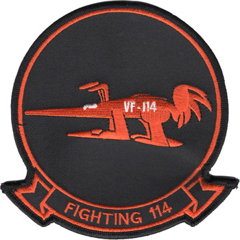 VF-114 Fighter Squadron Patch Aardvarks