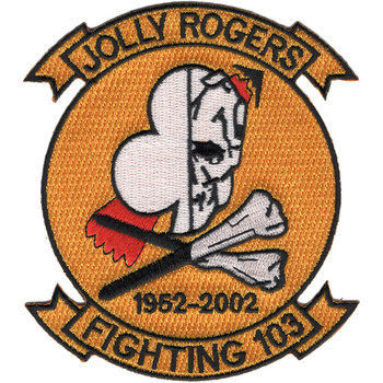 VF-103 Patch Jolly Rogers 1952 - 2002
