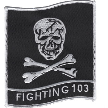 VF-103 Patch Fighting 103 Jolly Rogers-FLAG