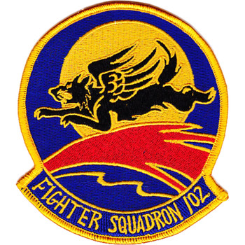 VF-102 Fighter Squadron Original Version Patch