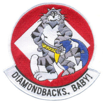 VF-102 Fighter Squadron Diamondbacks Patch