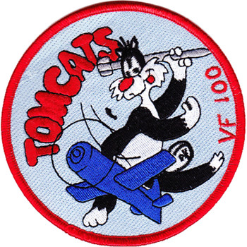 VF-100 Aviation Fighter Squadron WWII Patch