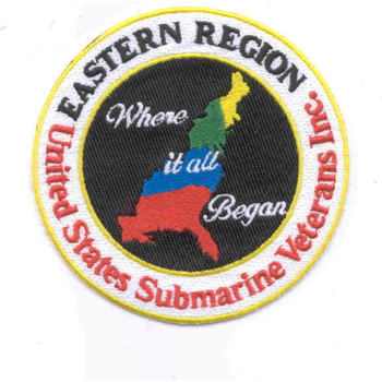 Veterans Eastern Region Patch
