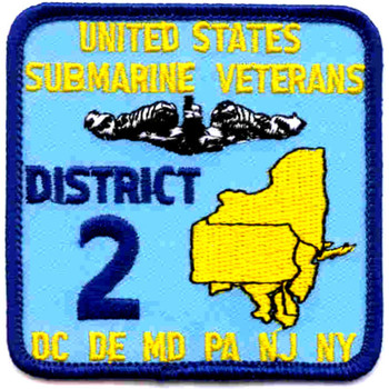 Veterans District Two Patch