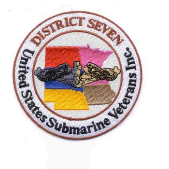 Veterans District Seven Patch