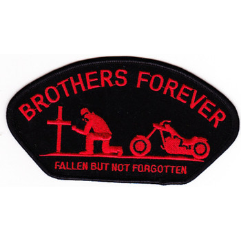 Veterans Brothers Forever Ball Cap Patch
