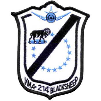 VMA-214 Patch Blacksheep Korean War