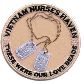 Vietnam Nurses Haven Patch