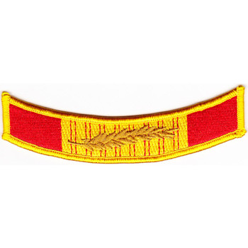 Vietnam Cross Of Gallantry Ribbon MOS Patch