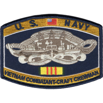 Vietnam Combatant-Craft Crewman Patch-MRF