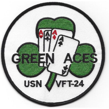 VFT-24 Patch Green Aces