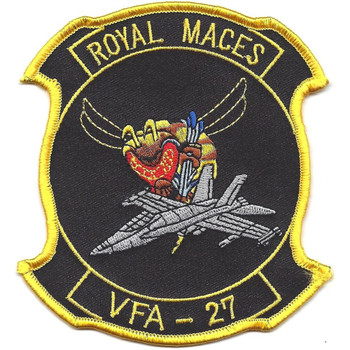 VFA-27 Fighter Attack Squadron Patch