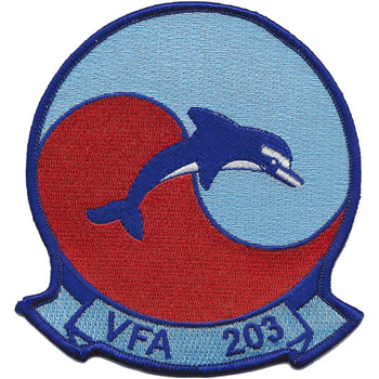 VFA-203 Blue Dolphins Patch