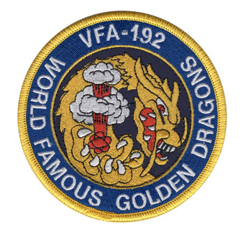 VFA-192 Patch World Famous Golden Dragons