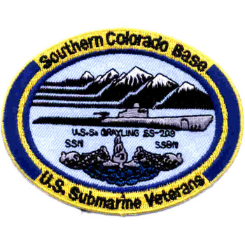 Veterans Base Southern Colorado Patch - Small Version