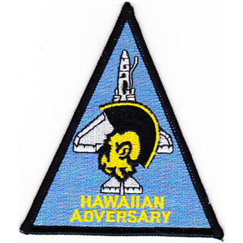 VC-1 A-4 Patch Hawaiian Adversary Blue