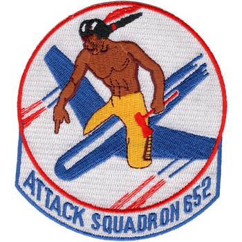 VA-652 Aviation Attack Reserve Squadron Patch