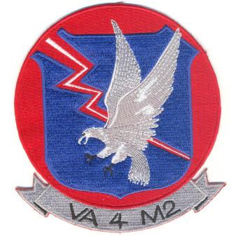 VA-4 M2 Attack Squadron Four M Two Patch
