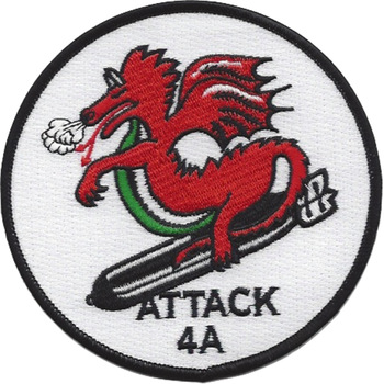 VA-4A Attack Squadron Patch